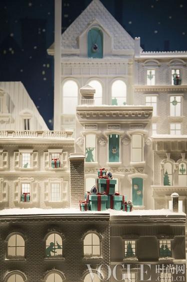 英伦精致橱窗装点绝美圣诞季 - VOGUE时尚网 - VOGUE时尚网