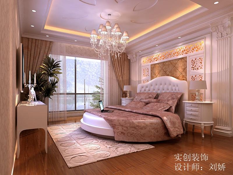 欧式风格-卧室效果图