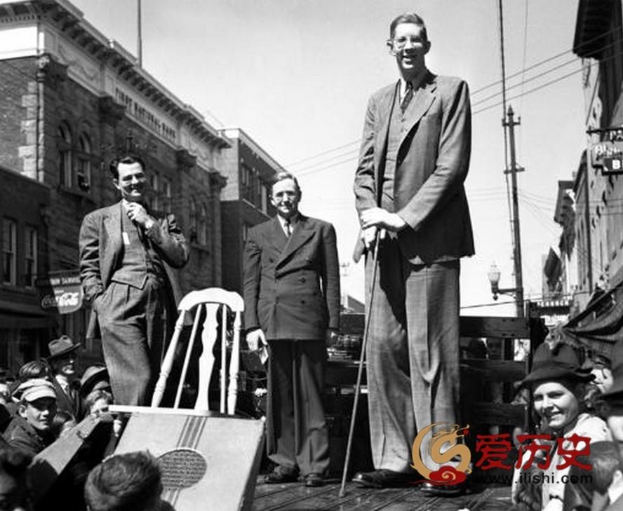 人类有证据记载最高的巨人 - 爱历史 - 爱历史---老照片的故事