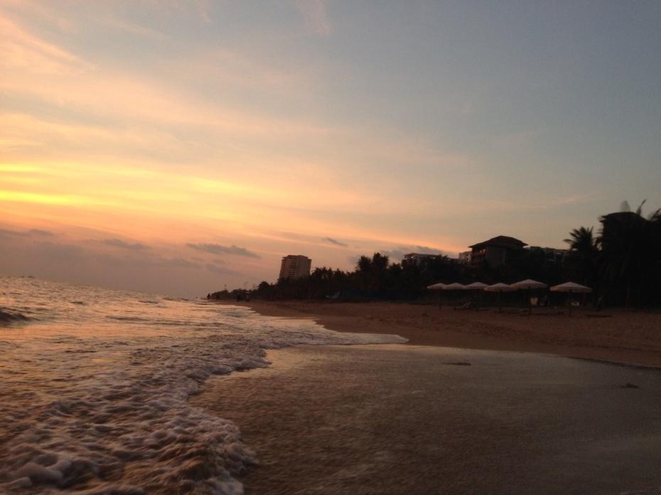 三亚风景沙滩图片