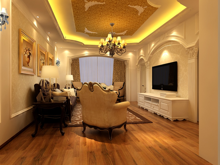 120平米装修 客厅效果图