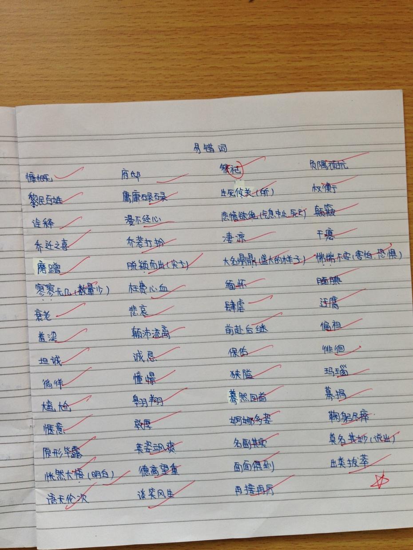 顾晓婷语文复习笔记 - 可爱的五(3)班 - 沐浴书香 幸福成长