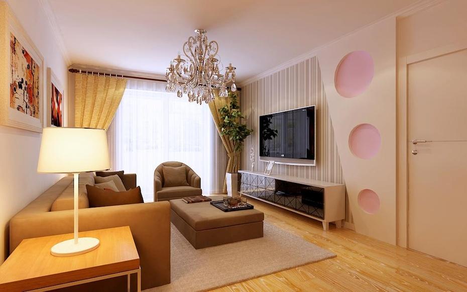 上海实创装饰120平米现代简约风格次卧装修效果图
