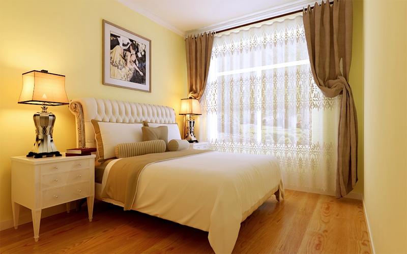 设计解析:业主喜欢明亮简洁大方又不失沉稳的气息,所以地板以中性色为主,个性的颜色的墙面碰上暖色的地板,不失整体的色彩,本户型为三居室客厅,客厅整体采光充足,客厅整体以简洁为主,不做过多造型,卧室采用暖色墙漆,清新亮丽,让整个房屋显得更加的温馨,更加强了空间中的视觉层次,让空间的美感在不断变化和转折中尽情呈现。