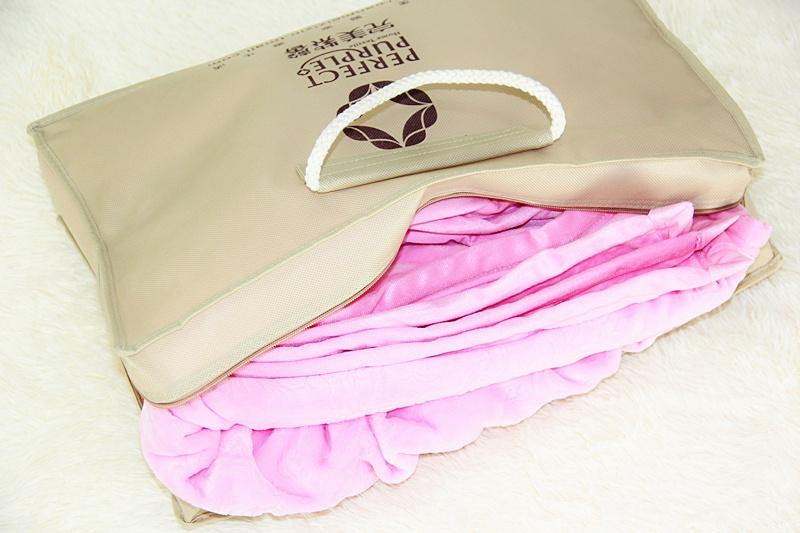 千金妞  完美紫馨  加厚双层法兰绒毛毯 - 千金妞 - 千金妞的小窝