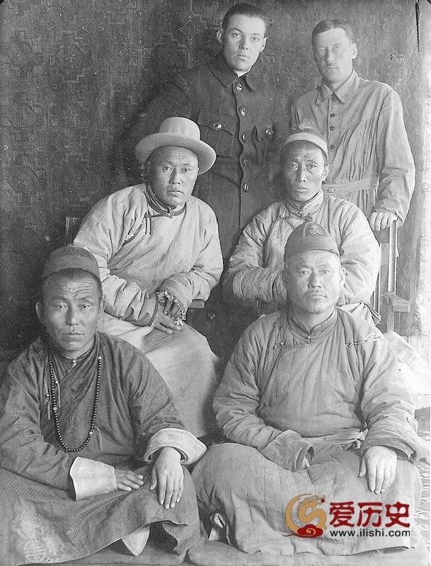 1925年与苏俄关系暧昧的蒙古 - 爱历史 - 爱历史---老照片的故事