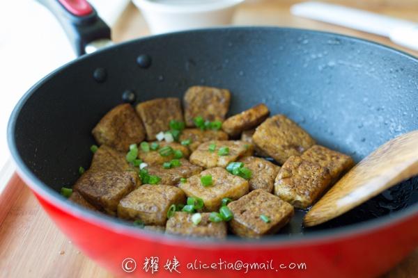 十分钟好味豆腐---葱香豆腐 - 耀婕 - 耀婕食生活