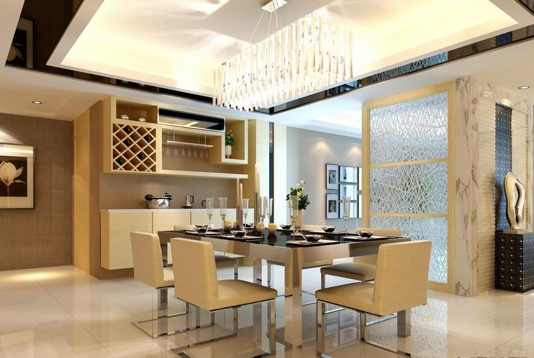 浦江颐城晶寓150平米现代简约风格装修效果图