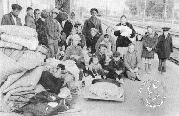苏联对车臣种族灭绝式的大迁徙 - 爱历史 - 爱历史---老照片的故事