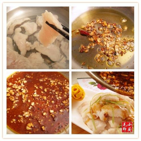 [感恩季-外婆家的菜]满满的爱——浇汁蒜蓉鱼片 - 慢生活美食客 - 慢生活美食客