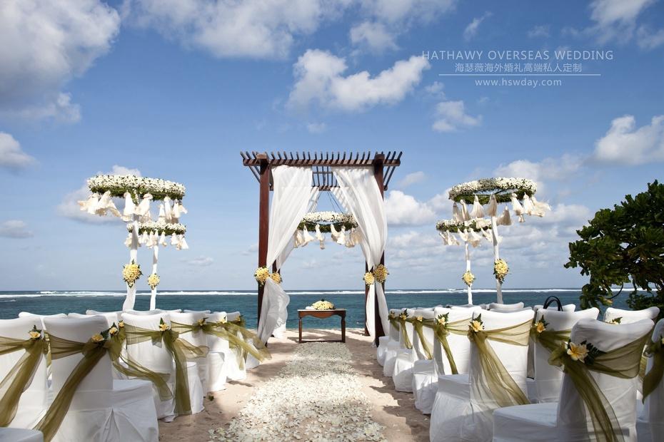 婚礼资讯_【海瑟薇海外婚礼资讯】浪漫巴厘岛海边沙滩婚