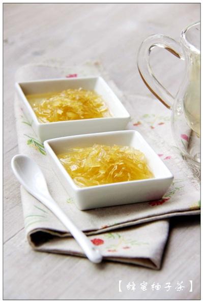 【暖冬】蜂蜜柚子茶:嫩肤养颜的滋补品