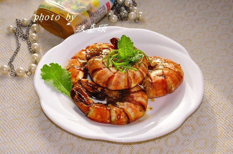 红焖大虾 - 慢美食 - 慢 美 食