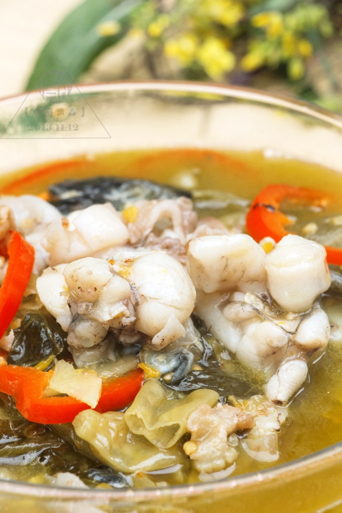口味菜之《酸菜牛蛙》 - 慢生活美食客 - 慢生活美食客