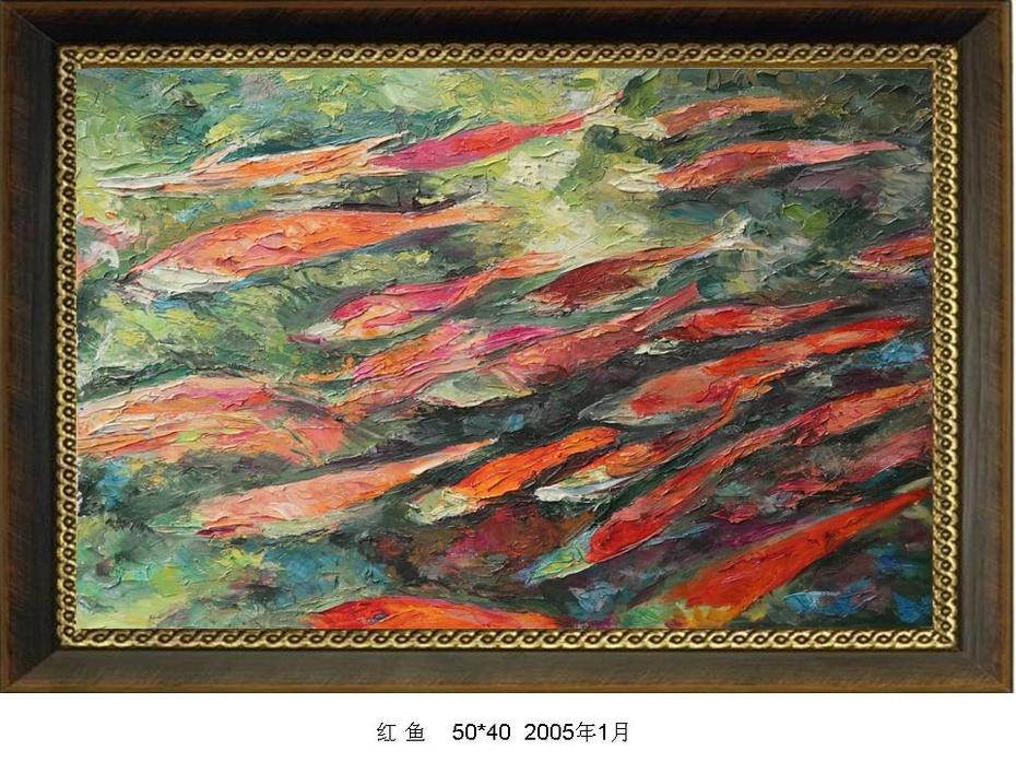 张健行油画专辑 - 春回大地 - YGGL 268的博客