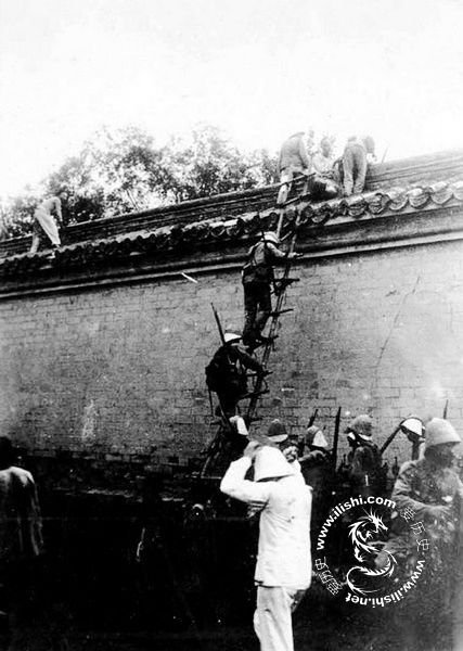 八国联军进北京 百姓争做带路党 - 爱历史 - 爱历史---老照片的故事