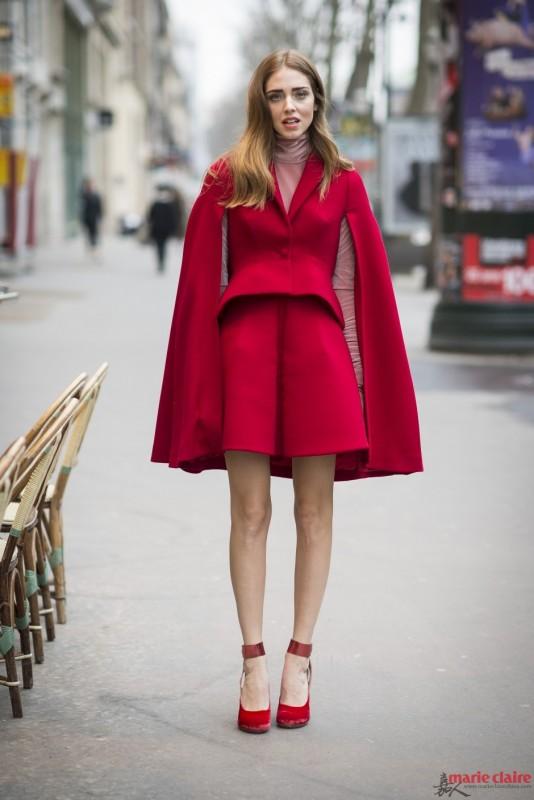 """她们巧用红色单品搭配 """"光芒""""闪耀了一整个冬季 - 嘉人marieclaire - 嘉人中文网 官方博客"""