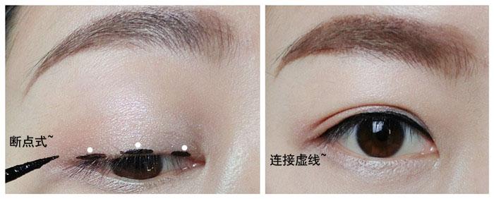 兰蔻艺术家持久眼线液试色,教你三款眼线妆 - 猫大妞 - 猫大妞