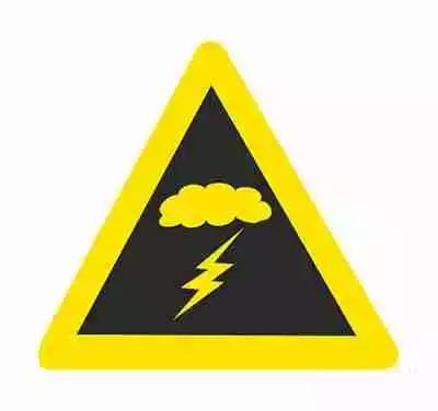 注意不利气象条件