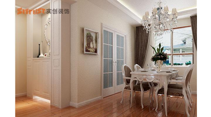 上海实创装饰打造100平2房欧式奢华装修案例