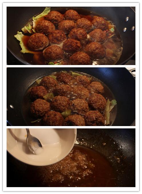 【国庆】红烧狮子头,节庆的餐桌怎能少 - 纸皮核桃 微信 c24628 - 185纸皮核桃的美食博客