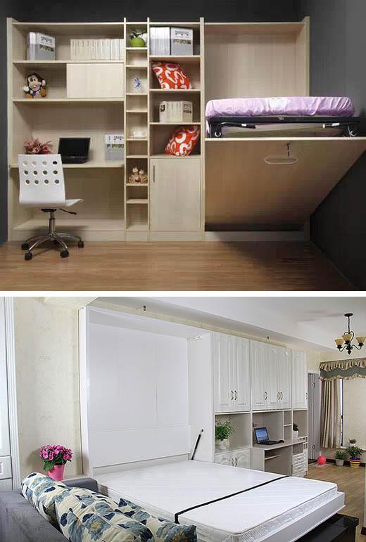 鉴赏|隐形床,多功能家具典范图片
