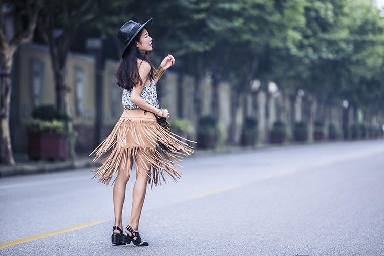 [Ava搭配日记]今年大热之流苏 - AvaFoo - Avas Fashion Blog