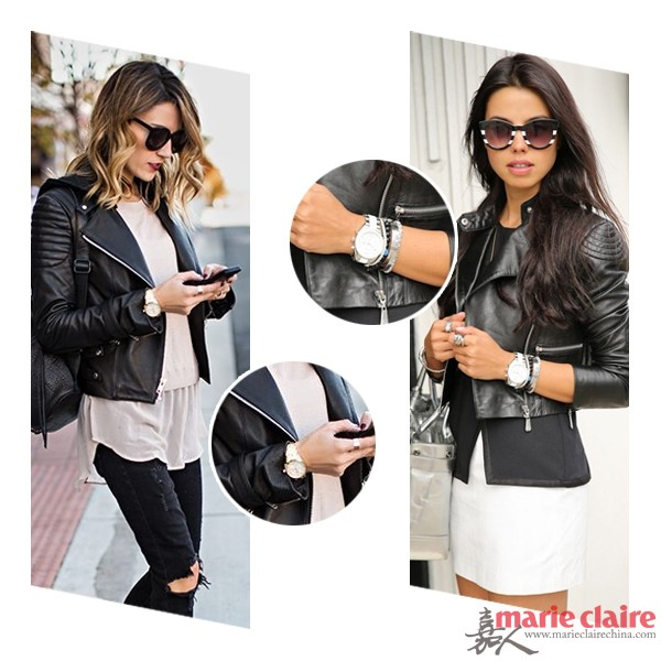 穿上小皮衣的秋天 搭对配饰才能吸引全世界 - 嘉人marieclaire - 嘉人中文网 官方博客