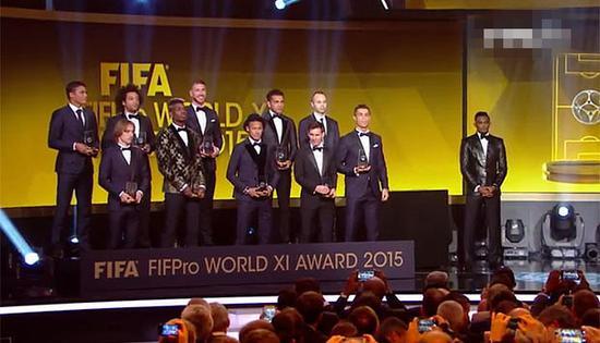 FIFA2015年度颁奖 - 古藤新枝 - 古藤的博客