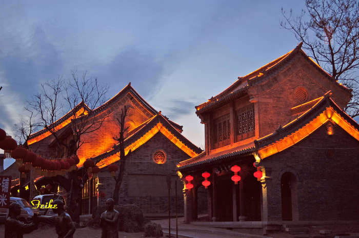 【原创摄影】青州古城观年景5:古城夜景 - 古藤新枝 - 古藤的博客