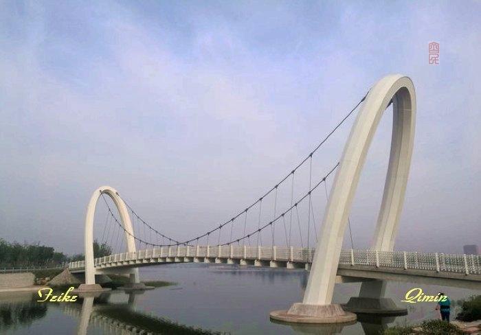 孝妇河湿地公园揽景1 - 古藤新枝 - 古藤的博客