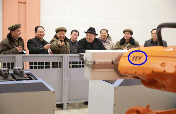 金正恩怒骂过的工厂都有机器人了 - 林海东 - 林海东的博客