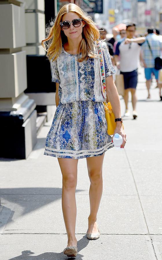 最会穿衣的名媛Olivia没有腰? 但她平时这么穿 - 嘉人marieclaire - 嘉人中文网 官方博客