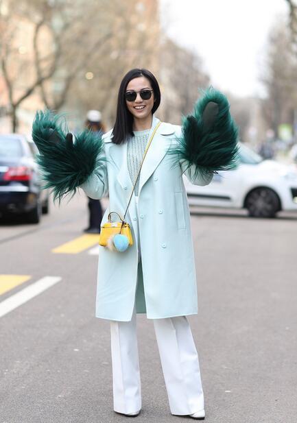 明星潮人示范手套造型 冬季增添点睛一笔 - 嘉人marieclaire - 嘉人中文网 官方博客