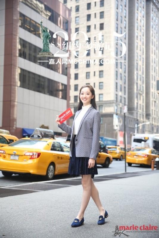 【纽约·梦游记 】蒋梦婕Tommy装试!Kate Spade萌趣盎然 - 嘉人marieclaire - 嘉人中文网 官方博客