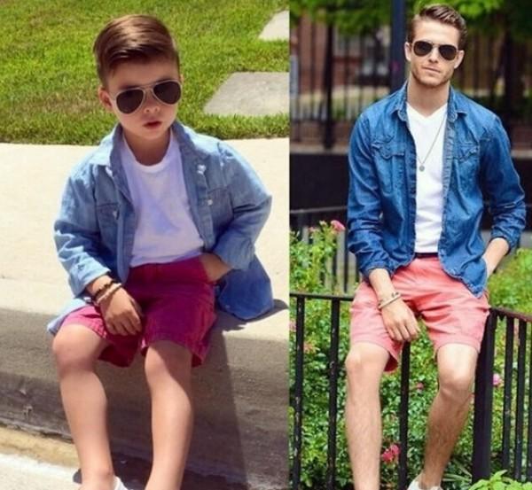 四岁小正太模仿明星造型爆红 生了儿子就这么打扮 - 嘉人marieclaire - 嘉人中文网 官方博客