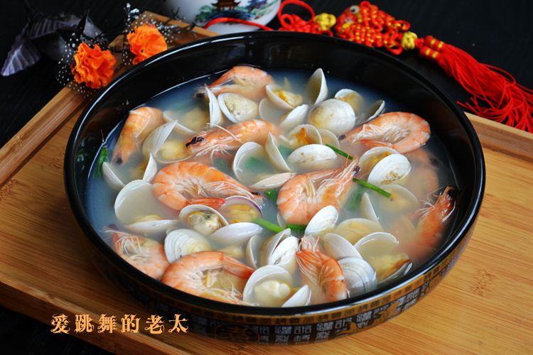 虾蛤汤 - 纸皮核桃 微信 c24628 - 185纸皮核桃的美食博客