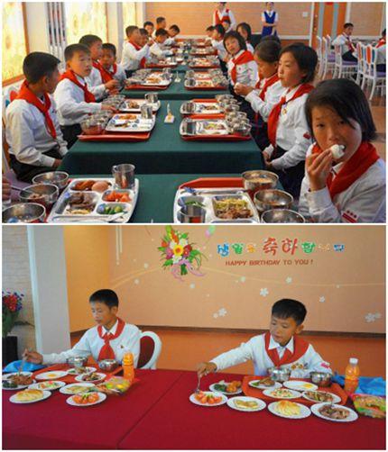 朝鲜小朋友送给人民军一堆炮 - 林海东 - 林海东的博客
