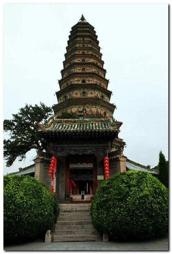 的中国四大名塔之