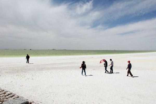 实拍:供世界人口吃两千年的盐湖诱人美景 - 余昌国 - 我的博客