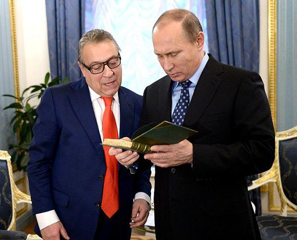 普京和喜剧演员哈扎诺夫为何玩皇冠? - 林海东 - 林海东的博客