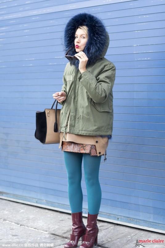 Army Style永不退潮 冬日要拉风就选军绿色外套 - 嘉人marieclaire - 嘉人中文网 官方博客