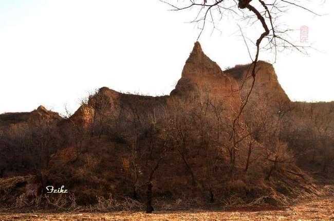 【原创摄影】山野冬景7:马莲台 - 古藤新枝 - 古藤的博客