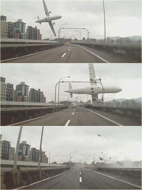 复兴航空空难,目测应该是左侧发动机故障,飞行员操作失误