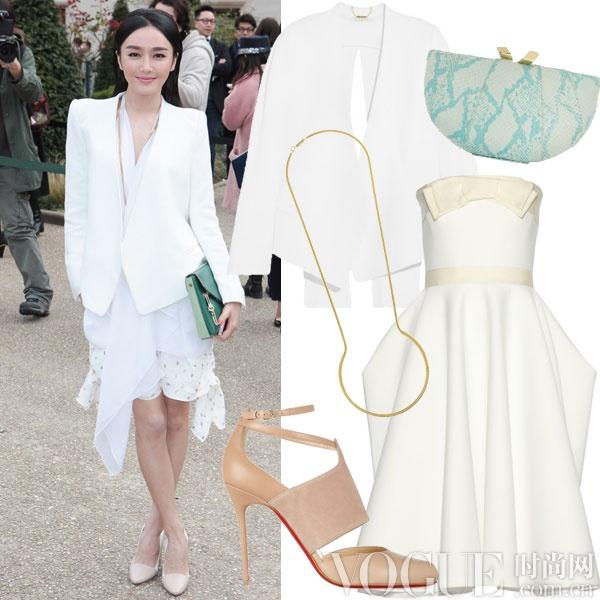 OL必备干练白西装四式巧搭 - VOGUE时尚网 - VOGUE时尚网