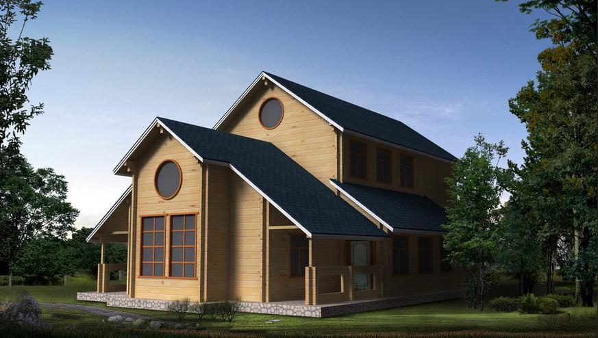 别墅买不起?不妨试试这种——木屋别墅。
