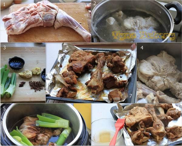 孜然味烤羊腿 - 慢美食 - 慢美食