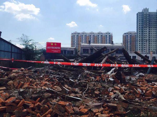 被拆毁的刘亚楼上将旧居可否不重建? - 林海东 - 林海东的博客