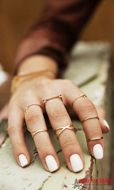 把戒指戴满手 才是美少女的正确装扮 - 嘉人marieclaire - 嘉人中文网 官方博客