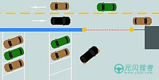 如圖所示,駕駛機動車駛離停車場進主路時,以下做法正確的是什么?A、加速匯入主路車流B、可以不避讓主路車輛C、無需觀察,鳴喇叭示意后匯入車流D、減速慢行,在不妨礙主路車輛行駛的前提下匯入車流答案是D